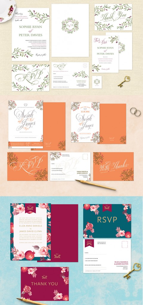 AGD WeddingInvitations Website Visual