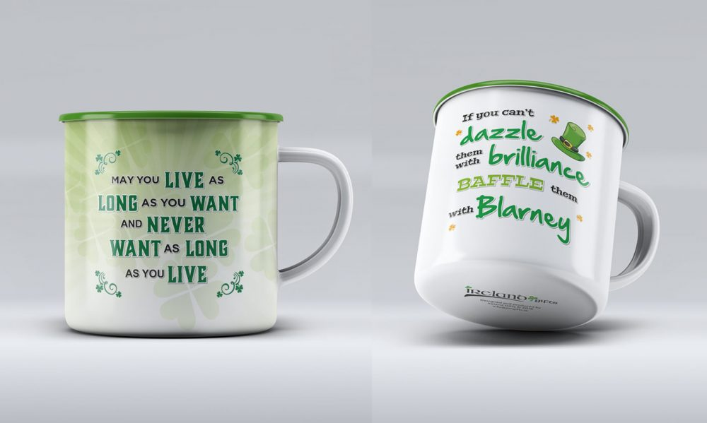 Blessings Tin Mugs