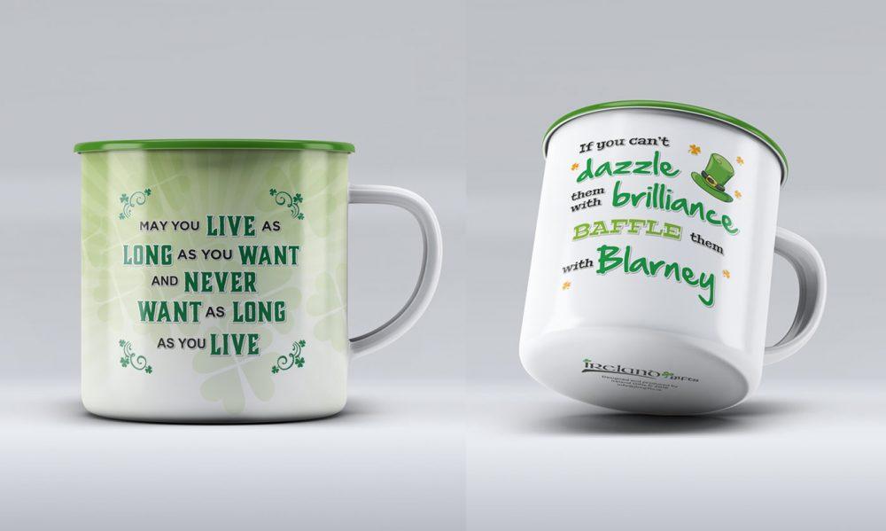 Blessings Tin Mugs