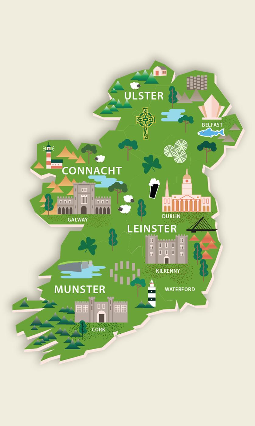 JLM Ireland Fridge Magnet